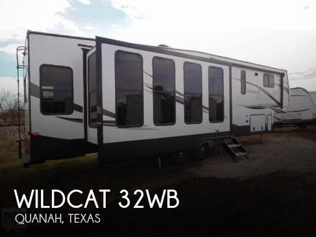 2019 Forest River Wildcat 32