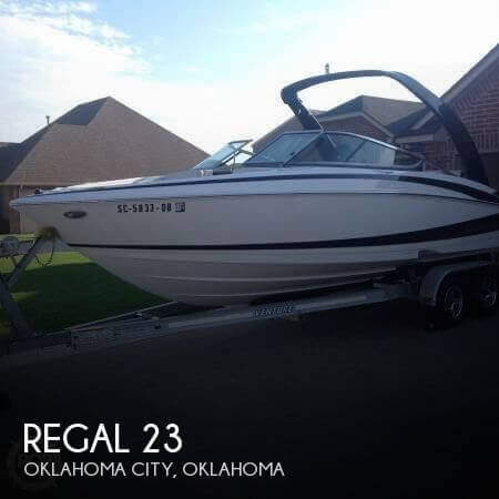Used Boats For Sale in Oklahoma City, Oklahoma by owner | 2011 Regal 23
