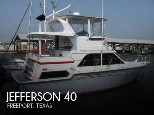 Used Jefferson Boats For Sale by owner | 1996 Jefferson 40