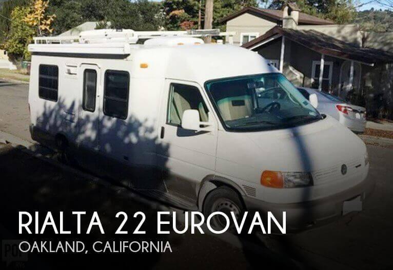 1999 Winnebago Rialta 22 Eurovan