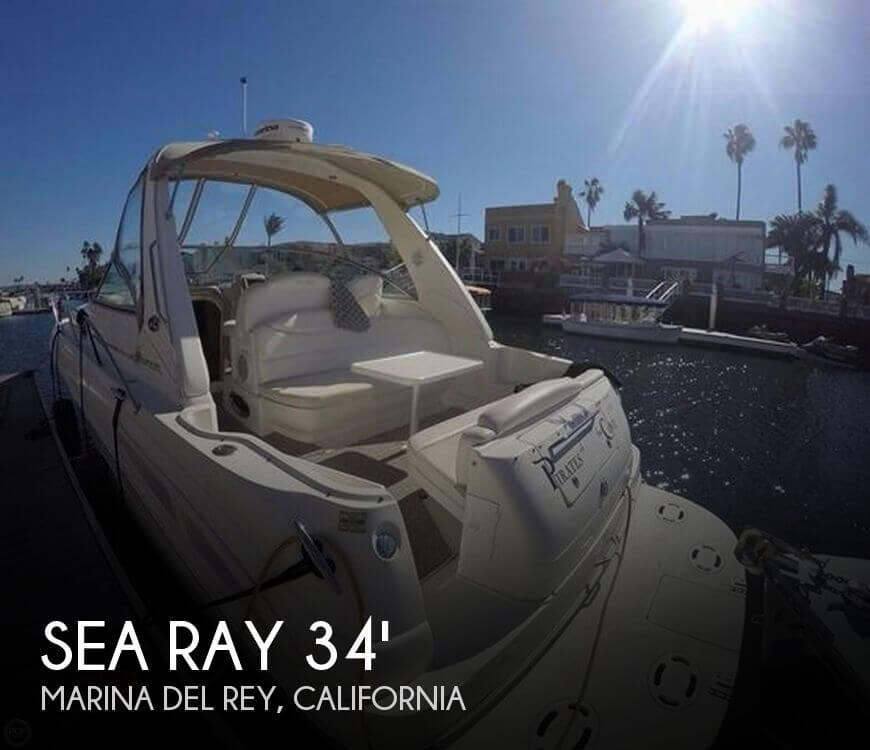 Used Power boats For Sale in Oxnard, California by owner | 2001 Sea Ray 34