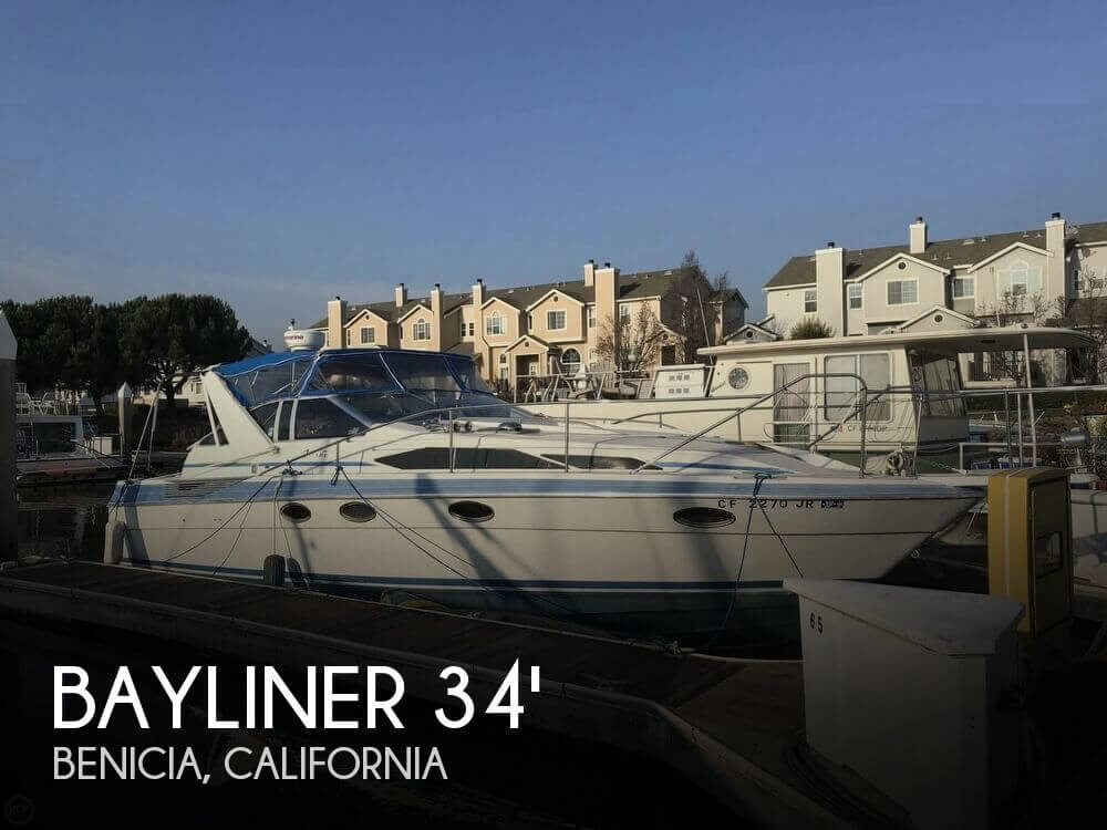 Used Bayliner Boats For Sale in California by owner | 1988 Bayliner 34