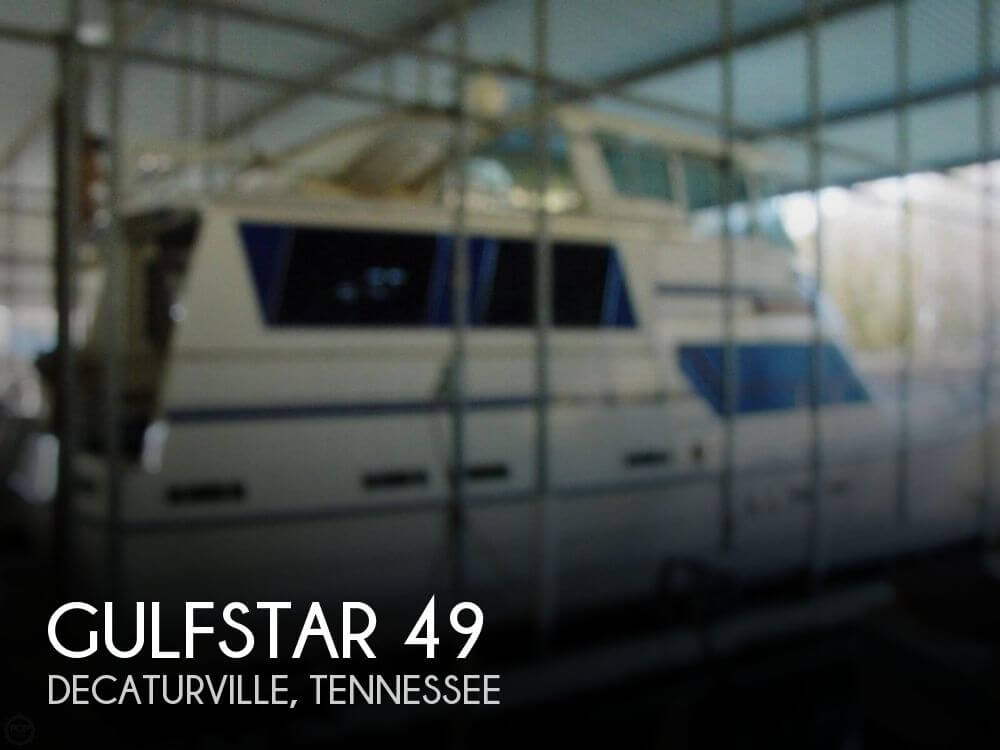 Used Boats For Sale in Tennessee by owner | 1986 Gulfstar 49