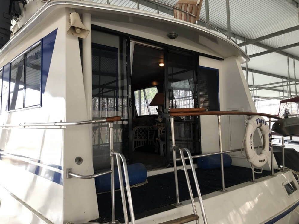 1986 Gulfstar boat for sale, model of the boat is 49 & Image # 26 of 40
