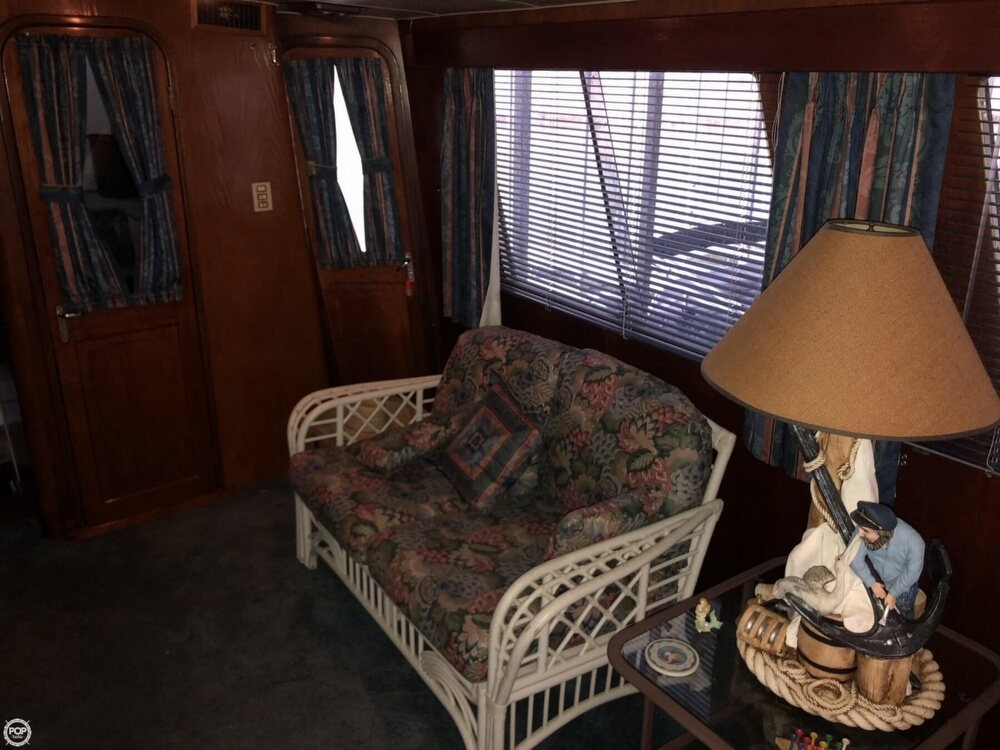 1986 Gulfstar boat for sale, model of the boat is 49 & Image # 28 of 40