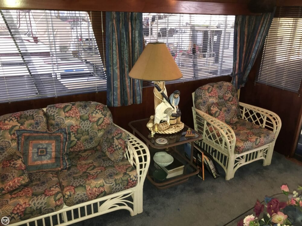 1986 Gulfstar boat for sale, model of the boat is 49 & Image # 29 of 40
