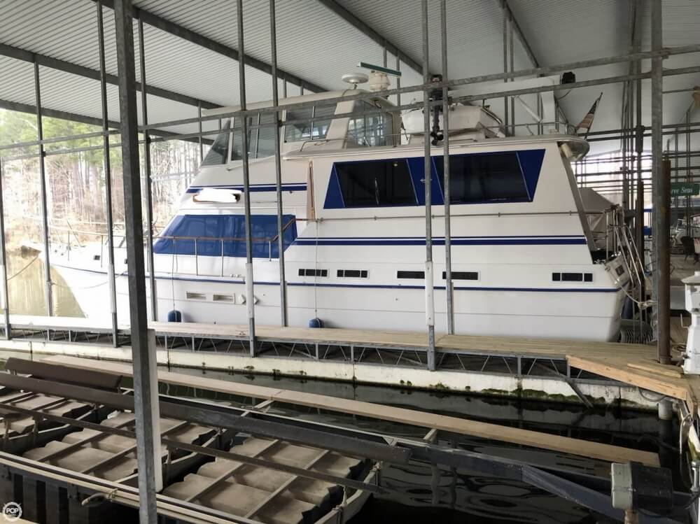 1986 Gulfstar boat for sale, model of the boat is 49 & Image # 4 of 40