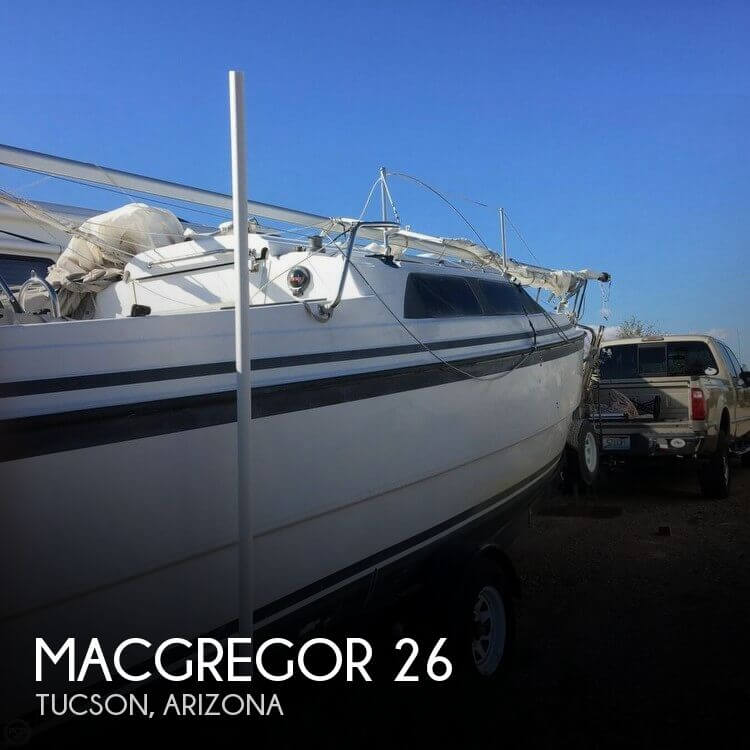 Used Boats For Sale in Tucson, Arizona by owner | 1999 MacGregor 26