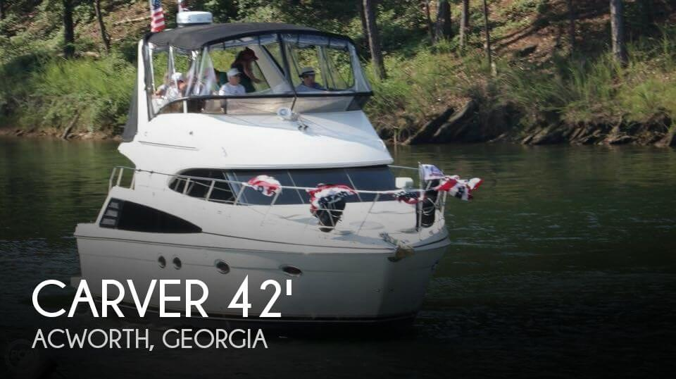 Used Boats For Sale in Georgia by owner | 2007 Carver 42
