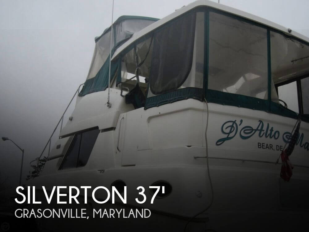 Used Motoryachts For Sale in Maryland by owner   1998 Silverton 372 Motor Yacht