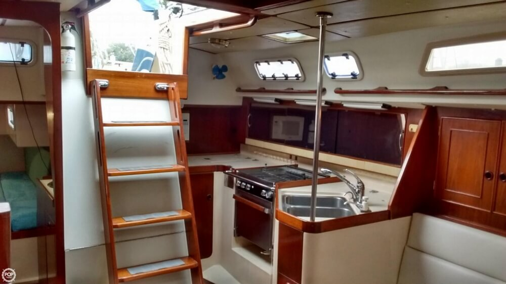 1990 Canadian Sailcraft boat for sale, model of the boat is CS 40 Tall Rig & Image # 8 of 40