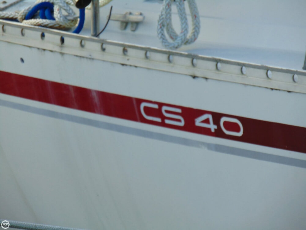 1990 Canadian Sailcraft boat for sale, model of the boat is CS 40 Tall Rig & Image # 29 of 40