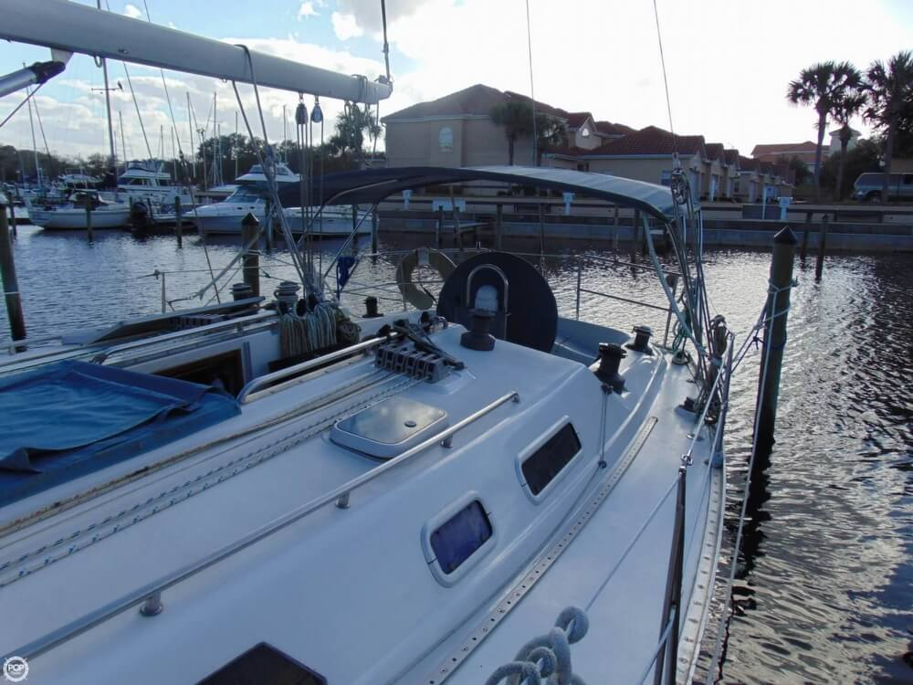 1990 Canadian Sailcraft boat for sale, model of the boat is CS 40 Tall Rig & Image # 34 of 40