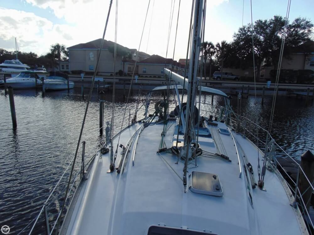 1990 Canadian Sailcraft boat for sale, model of the boat is CS 40 Tall Rig & Image # 40 of 40