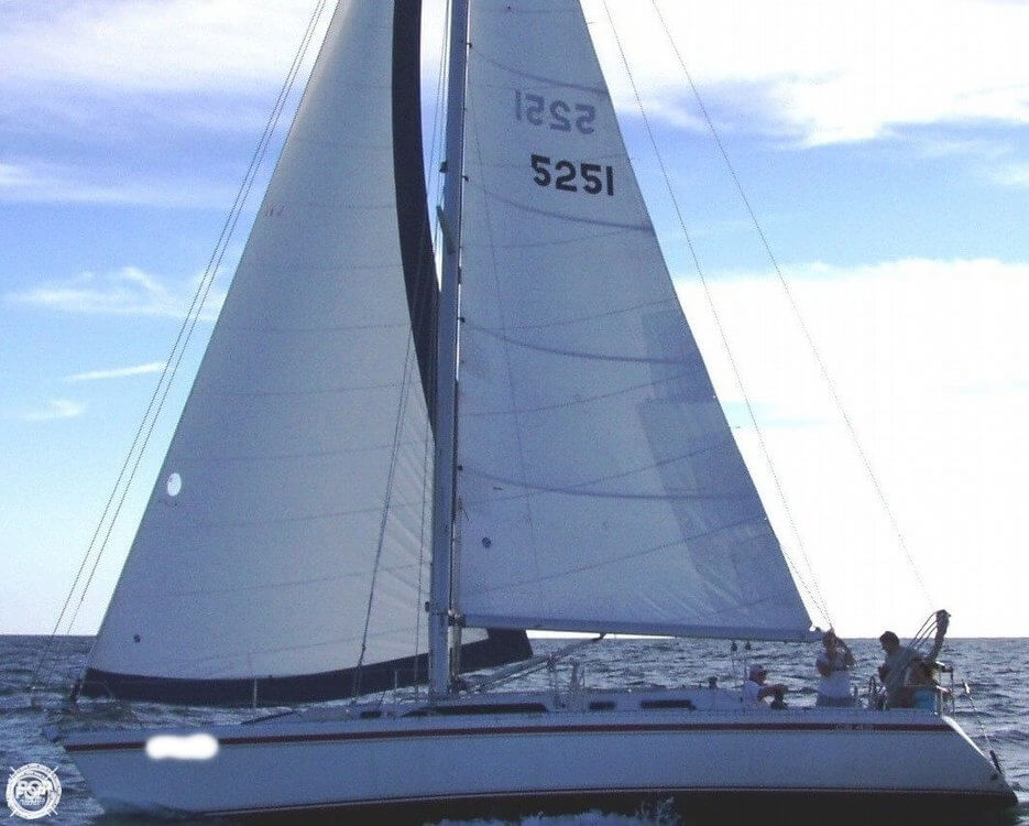 1990 Canadian Sailcraft boat for sale, model of the boat is CS 40 Tall Rig & Image # 2 of 40