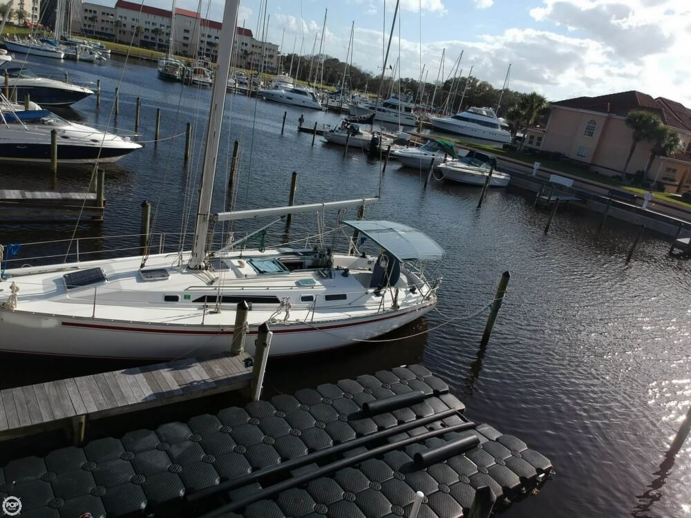 1990 Canadian Sailcraft boat for sale, model of the boat is CS 40 Tall Rig & Image # 16 of 40
