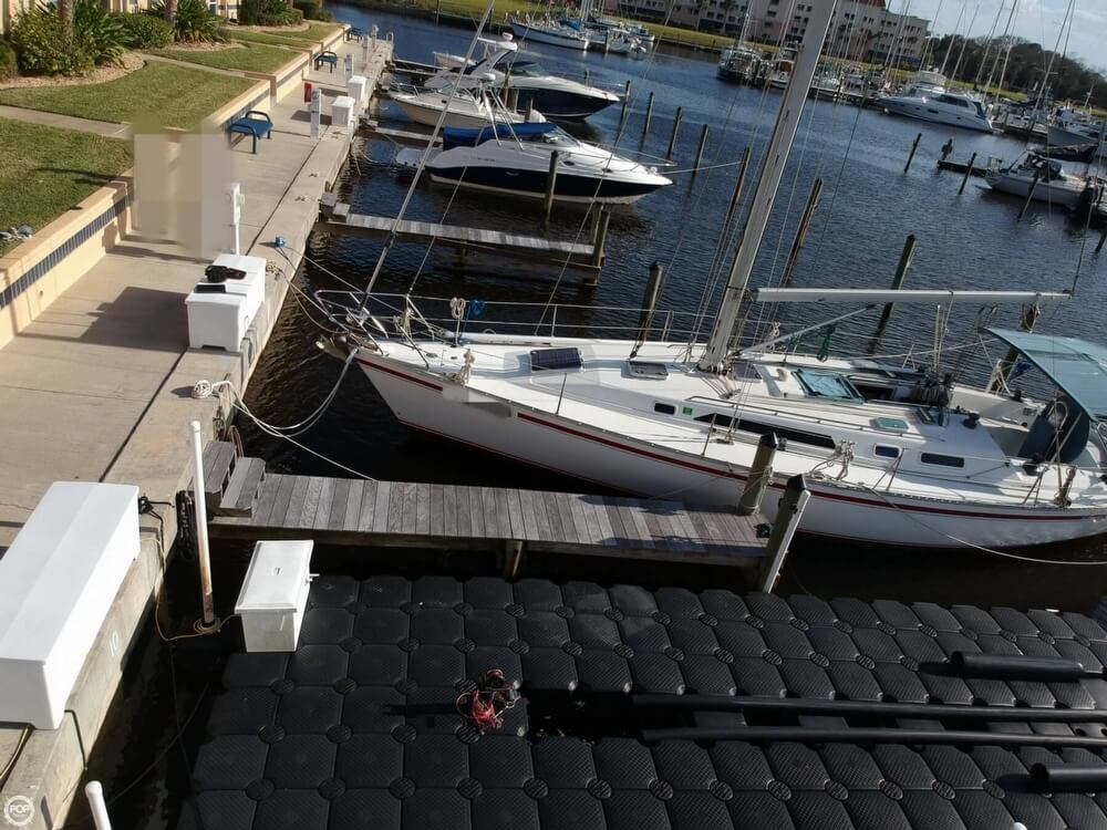 1990 Canadian Sailcraft boat for sale, model of the boat is CS 40 Tall Rig & Image # 17 of 40