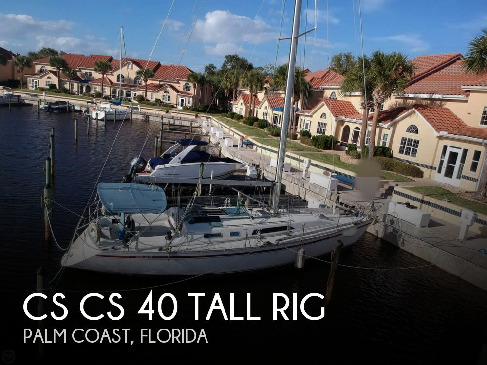1990 Canadian Sailcraft boat for sale, model of the boat is CS 40 Tall Rig & Image # 1 of 40