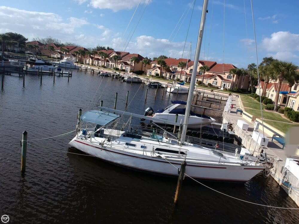 1990 Canadian Sailcraft boat for sale, model of the boat is CS 40 Tall Rig & Image # 23 of 40