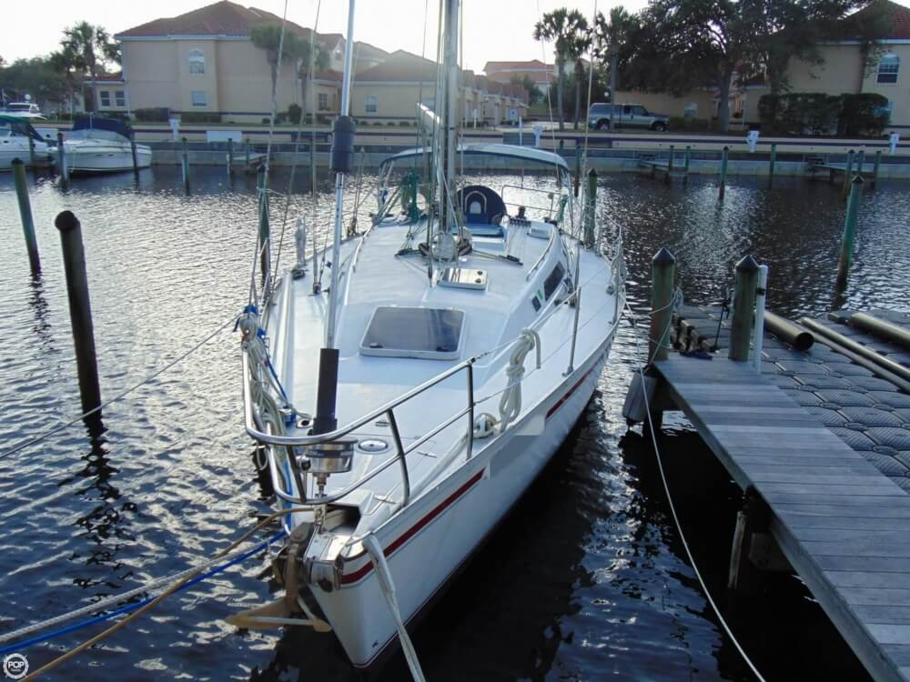 1990 Canadian Sailcraft boat for sale, model of the boat is CS 40 Tall Rig & Image # 30 of 40