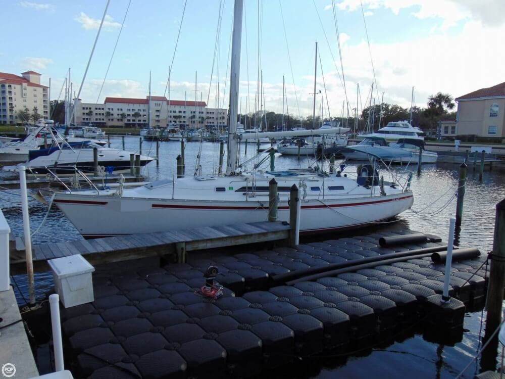 1990 Canadian Sailcraft boat for sale, model of the boat is CS 40 Tall Rig & Image # 32 of 40