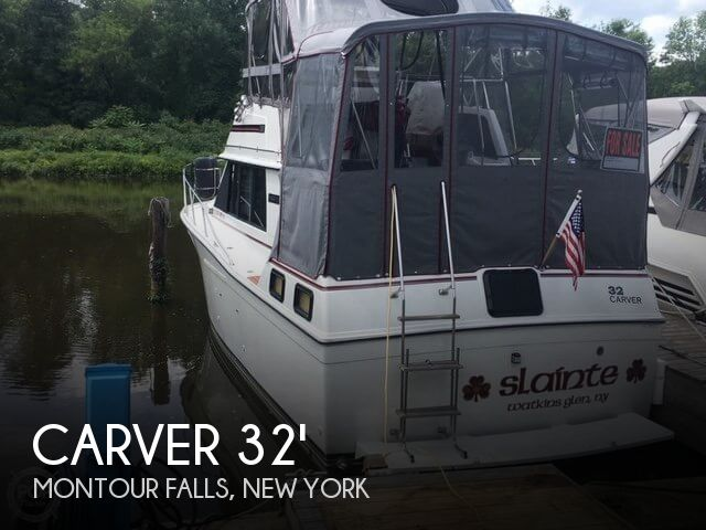 Used Carver Boats For Sale in New York by owner | 1986 Carver 32