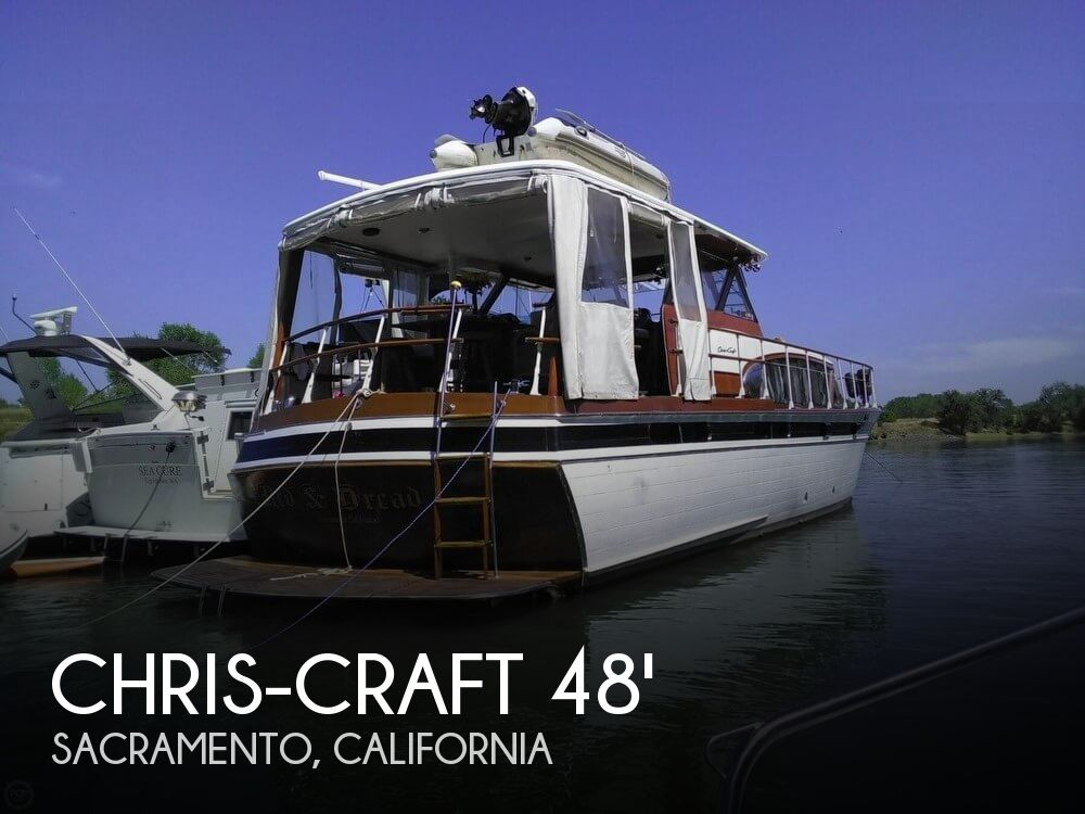 Used Boats For Sale in Vallejo, California by owner | 1958 Chris-Craft 48