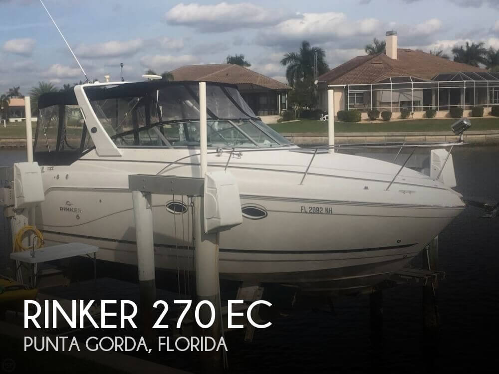 Used Rinker 27 Boats For Sale by owner | 2007 Rinker 270 EC