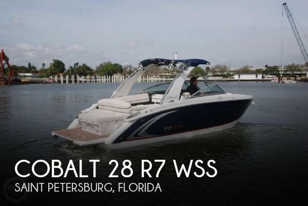 Used Cobalt Boats For Sale by owner | 2016 Cobalt 28 R7 WSS