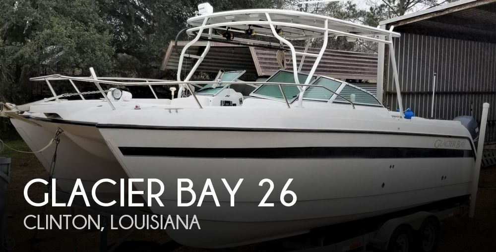 Used GLACIER BAY Boats For Sale by owner | 2003 Glacier Bay 26
