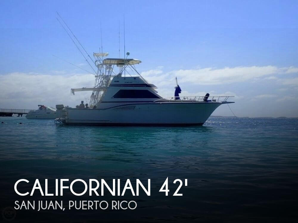 Used Californian Boats For Sale by owner | 1987 Californian 42