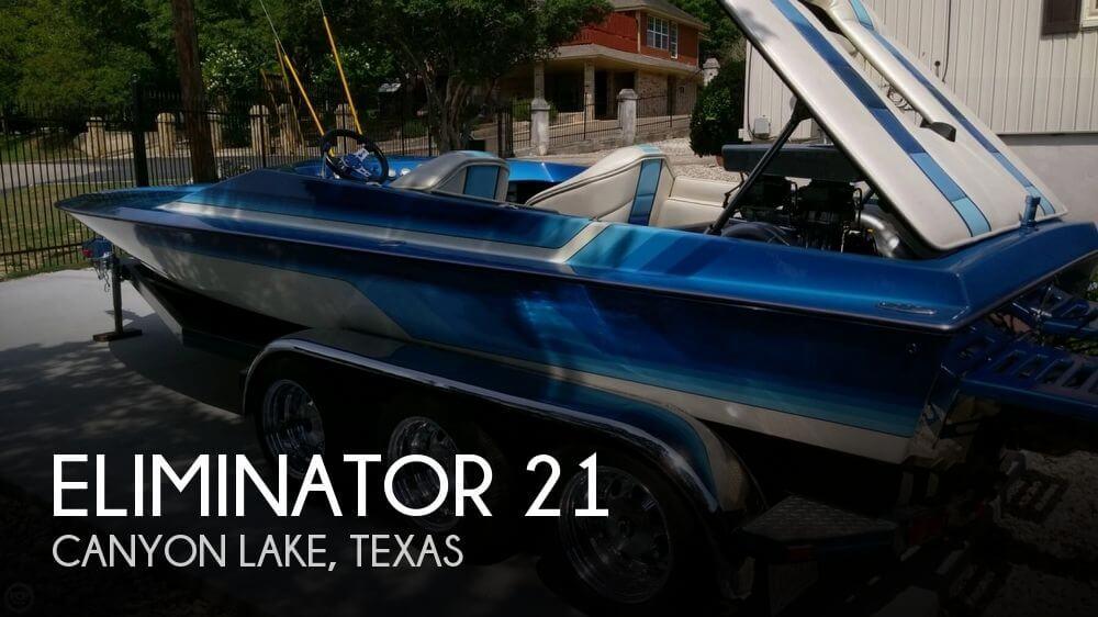 Used ELIMINATOR Boats For Sale by owner | 1987 Eliminator 21