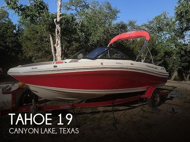 Used Tahoe Boats For Sale in Texas by owner | 2015 Tahoe 19