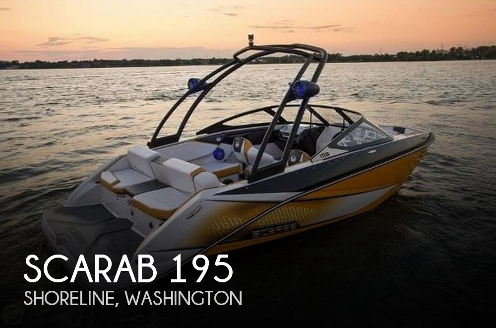 Used Scarab Boats For Sale in Washington by owner | 2014 Scarab 19