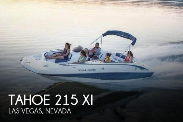 Used Deck Boats For Sale in Nevada by owner | 2017 Tahoe 21