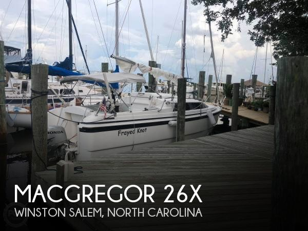 Used Sailboats For Sale in North Carolina by owner | 2002 MacGregor 26