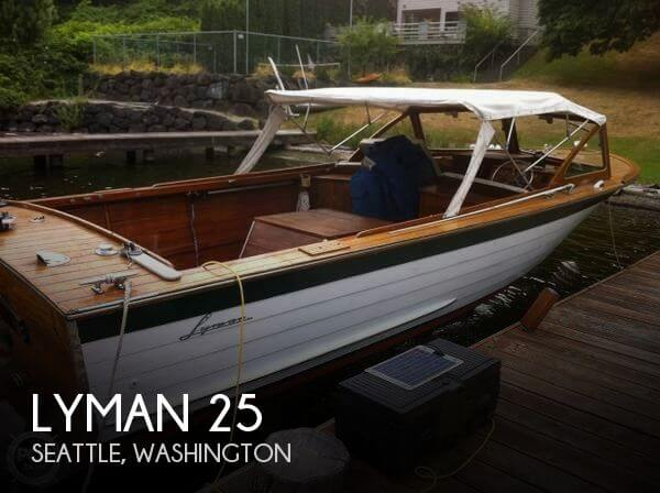 Used Lyman Boats For Sale by owner | 1964 Lyman 25