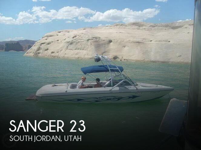 Used Boats For Sale in Salt Lake City, Utah by owner | 2006 Sanger 23