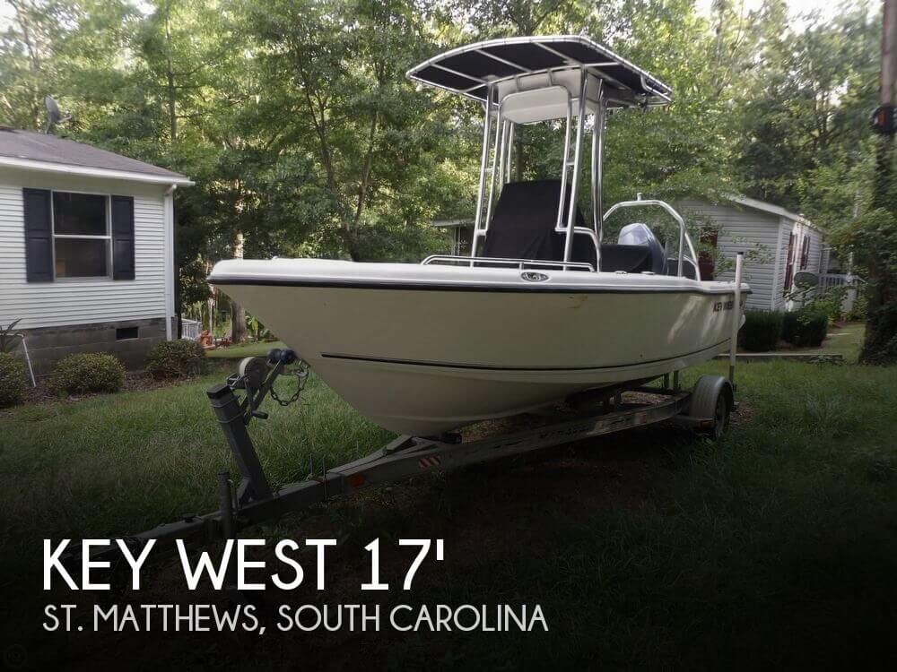 Used Key West Boats For Sale by owner   2016 Key West 17