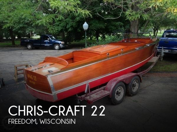 Used Boats For Sale in Green Bay, Wisconsin by owner | 1931 Chris-Craft 22