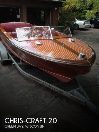 1955 Chris Craft boat for sale, model of the boat is Holiday 20 & Image # 1 of 29