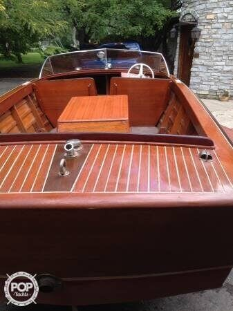 1955 Chris Craft boat for sale, model of the boat is Holiday 20 & Image # 3 of 29
