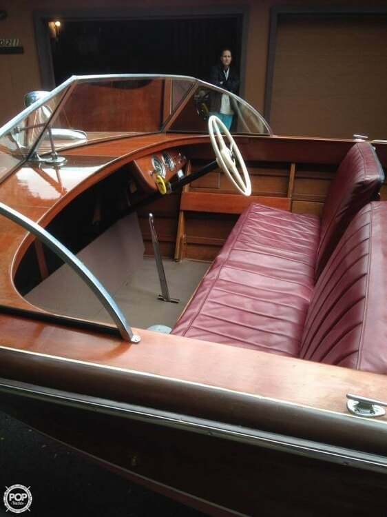 1955 Chris Craft boat for sale, model of the boat is Holiday 20 & Image # 4 of 29