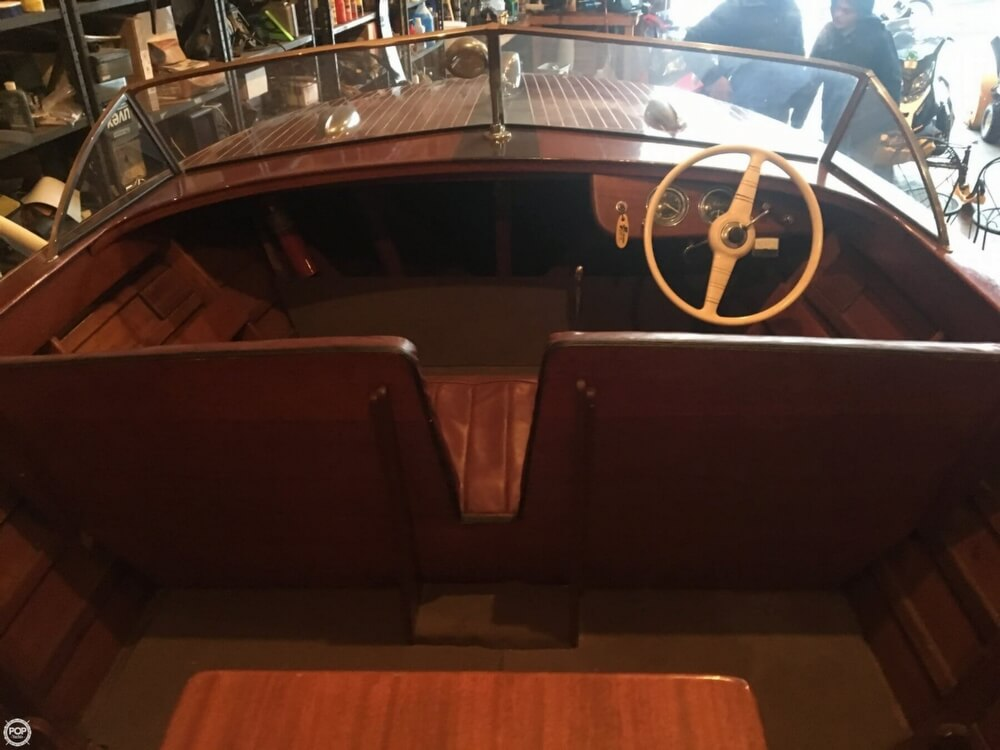 1955 Chris Craft boat for sale, model of the boat is Holiday 20 & Image # 13 of 29