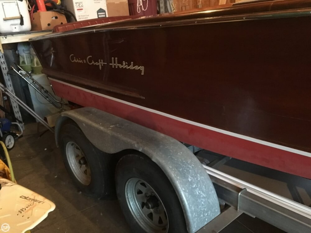 1955 Chris Craft boat for sale, model of the boat is Holiday 20 & Image # 22 of 29