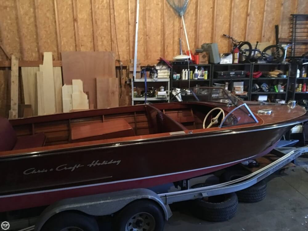 1955 Chris Craft boat for sale, model of the boat is Holiday 20 & Image # 27 of 29