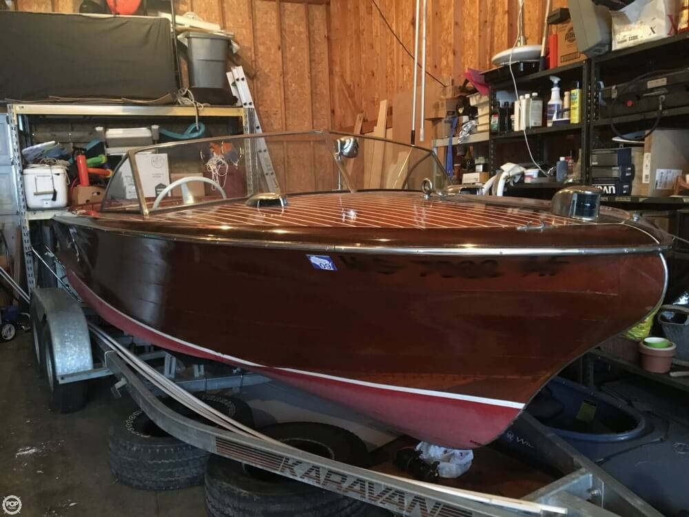 1955 Chris Craft boat for sale, model of the boat is Holiday 20 & Image # 28 of 29