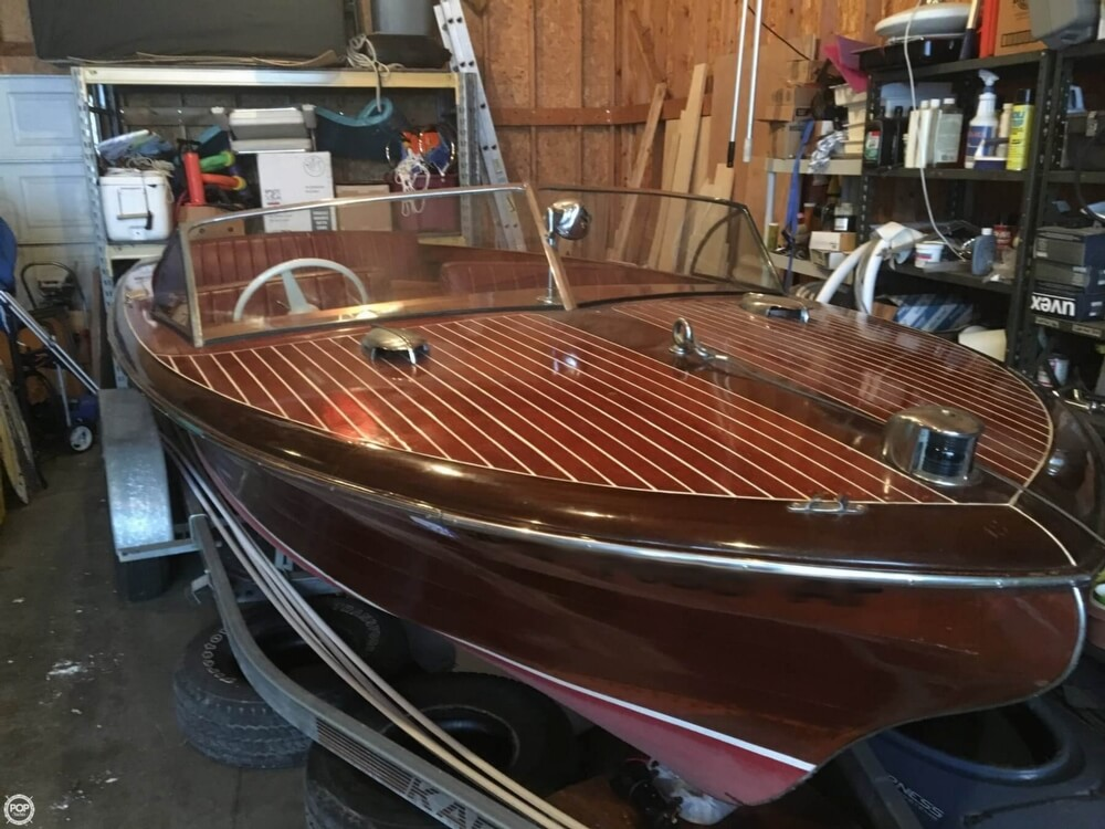 1955 Chris Craft boat for sale, model of the boat is Holiday 20 & Image # 29 of 29