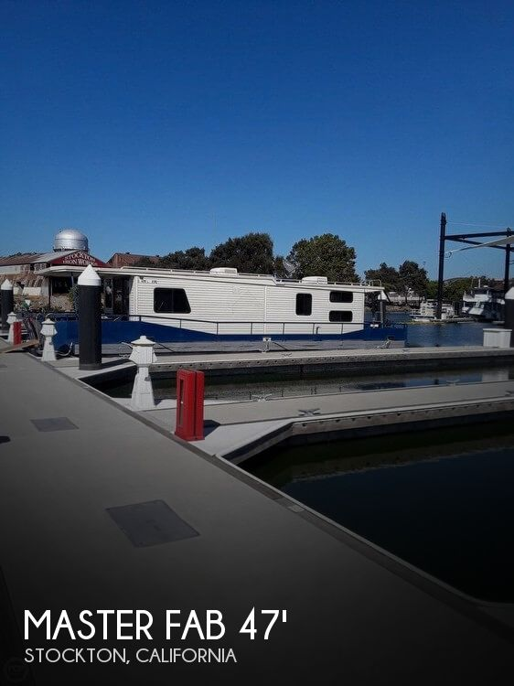 Used Houseboats For Sale in Merced, California by owner | 1982 Master Fabricators 14 X 47 Houseboat