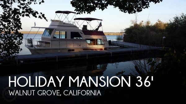 Used Houseboats For Sale in California by owner | 1990 Holiday Mansion 36
